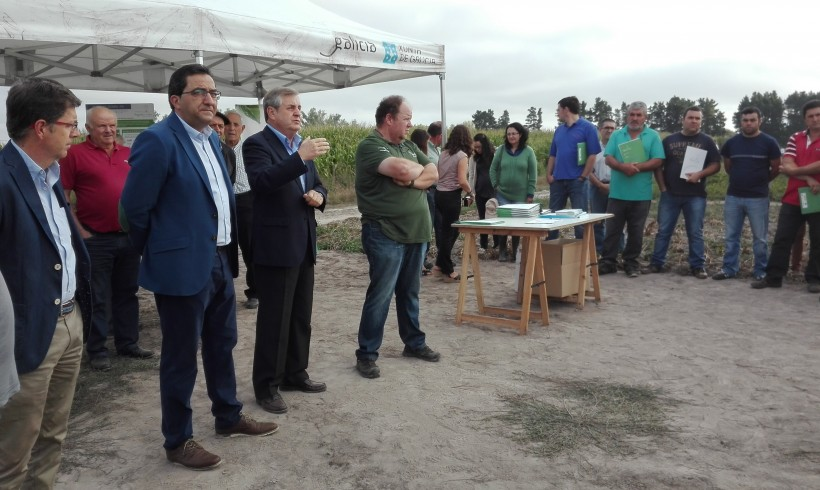 "INORDE ORGANISES A DAY OF FIELD INSIDE OF THE ACTIVITIES OF ""REGENERATES LIMIA PROJECT"" IN HIS AGRICULTURAL- LIVESTOCK CENTRE IN XINZO DE LIMIA"